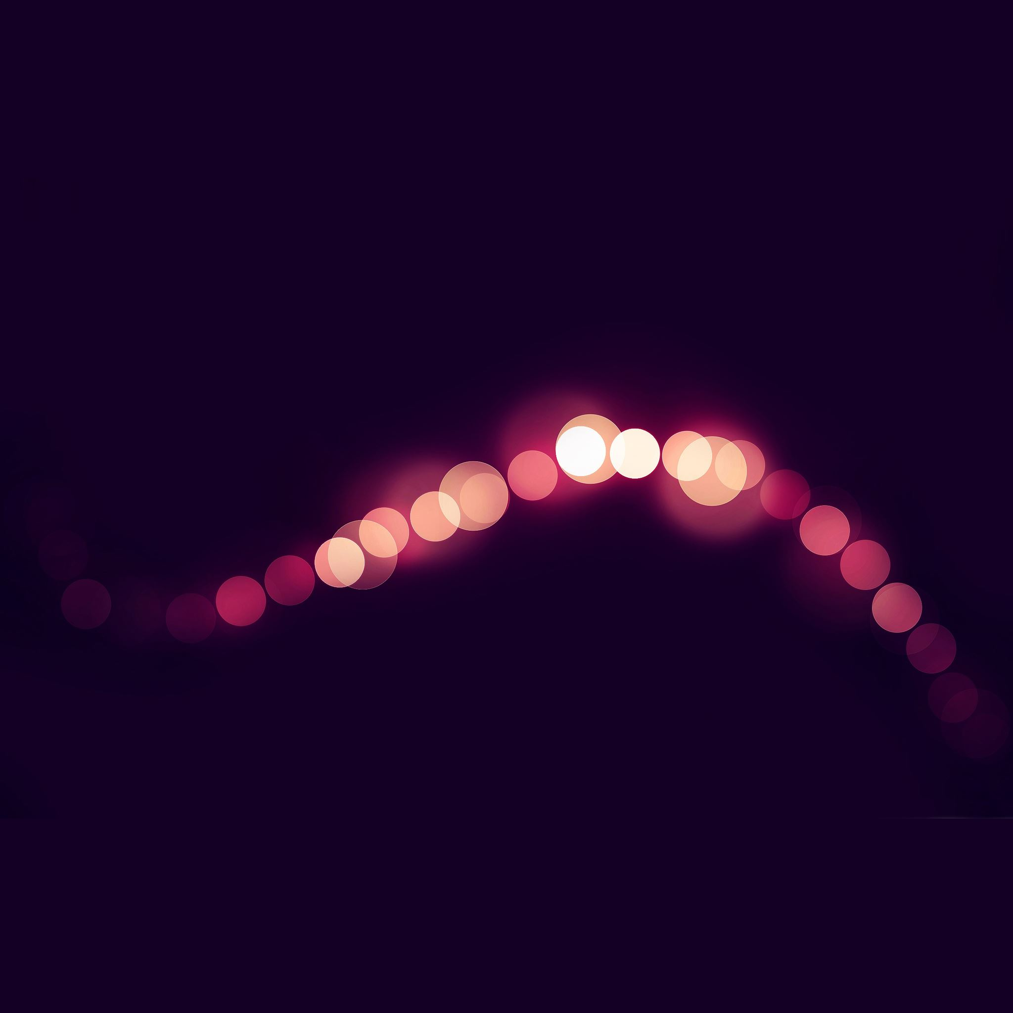 Bokeh string iPad Air wallpaper