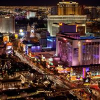 Las Vegas Strip iPad wallpaper