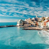 The Cinque Terre View iPad Air wallpaper