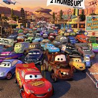 Cars Movie Review iPad Air wallpaper