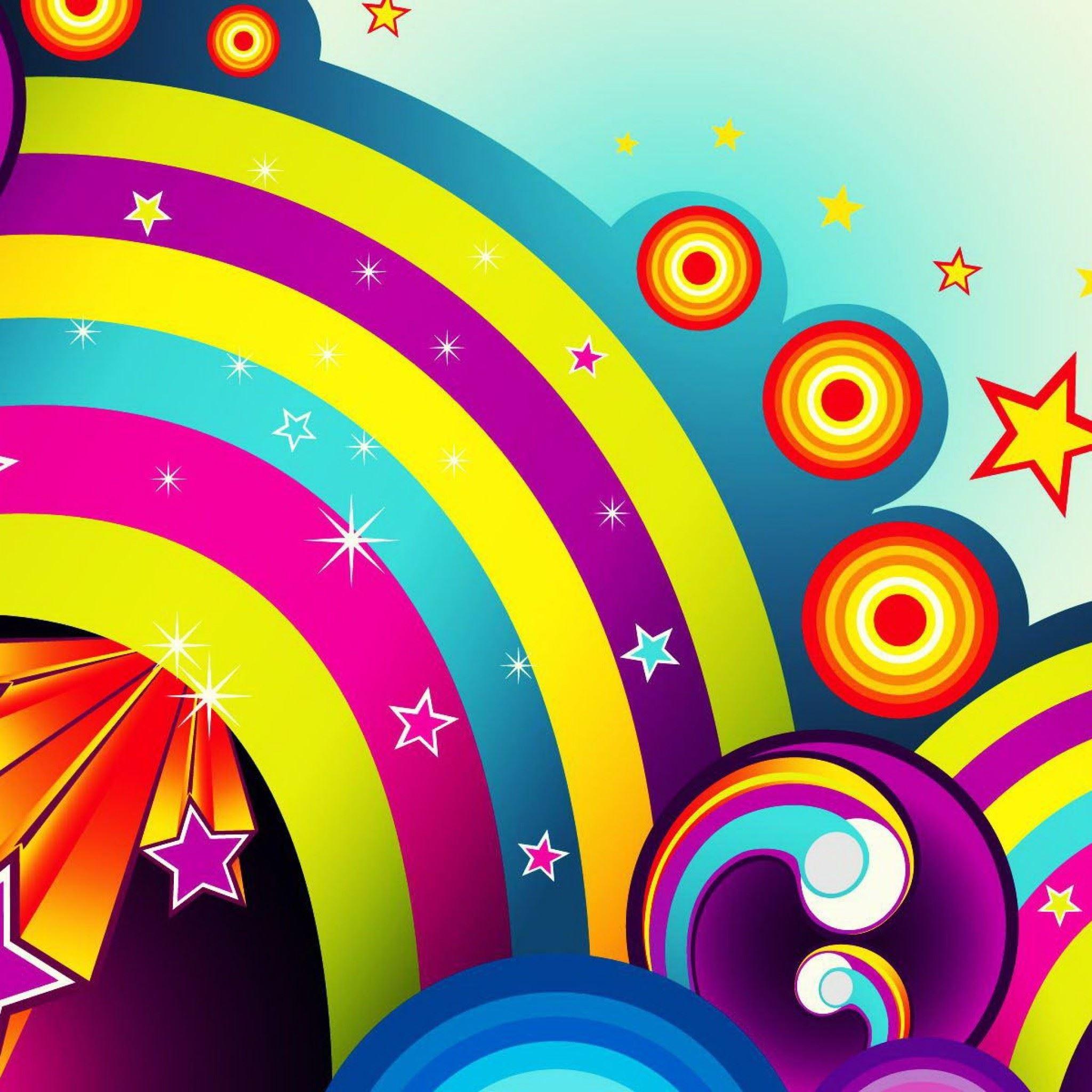 Apple Mac Magnificent Colors iPad 4 wallpaper ilikewallpaper com