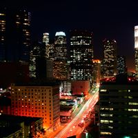 Los Angeles Lights iPad wallpaper