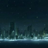 Winter Snow Figure iPad Air wallpaper