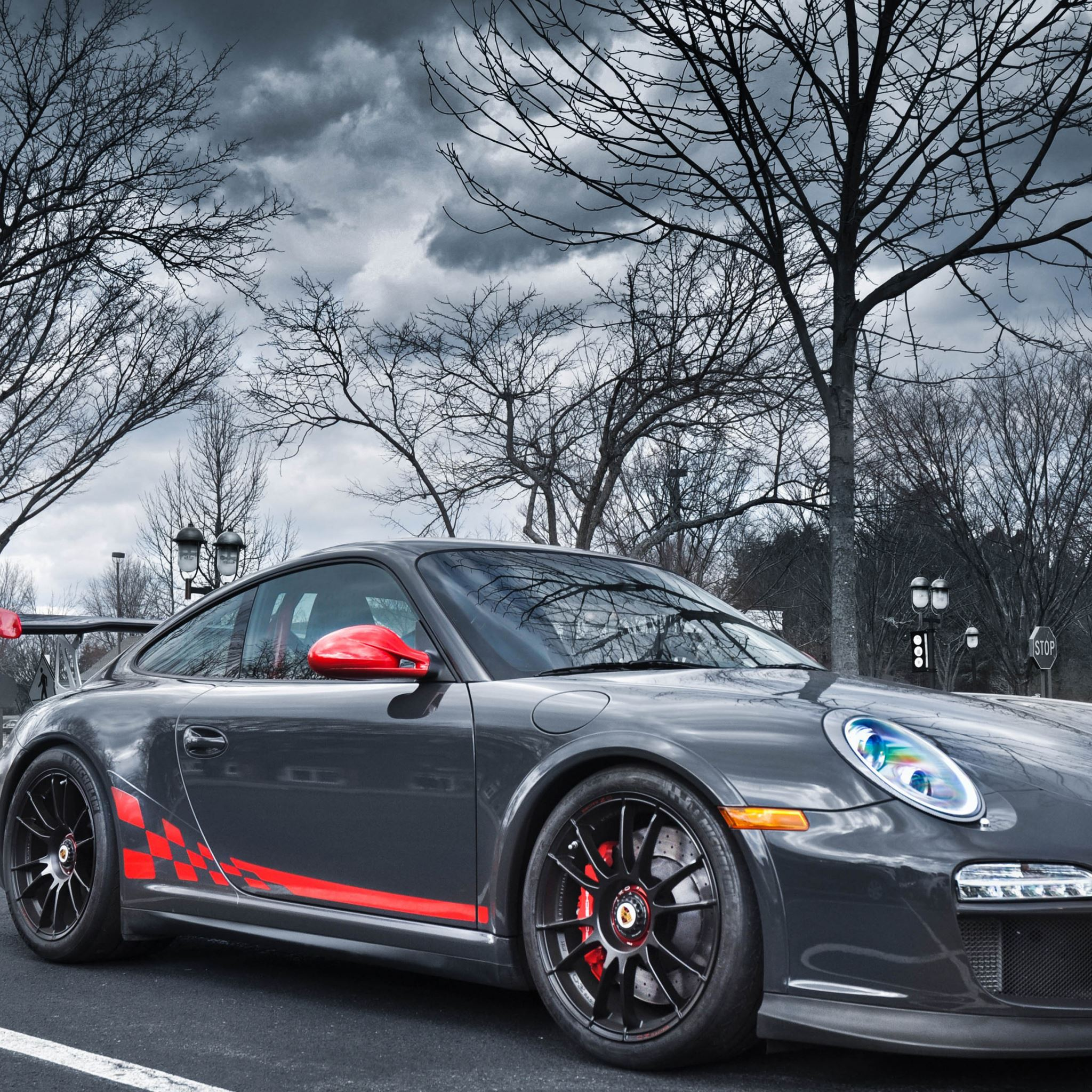 Porsche 911 sport tuning iPad Air wallpaper