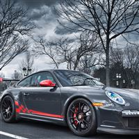 Porsche 911 sport tuning iPad wallpaper