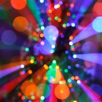 Christmas lights iPad Air wallpaper