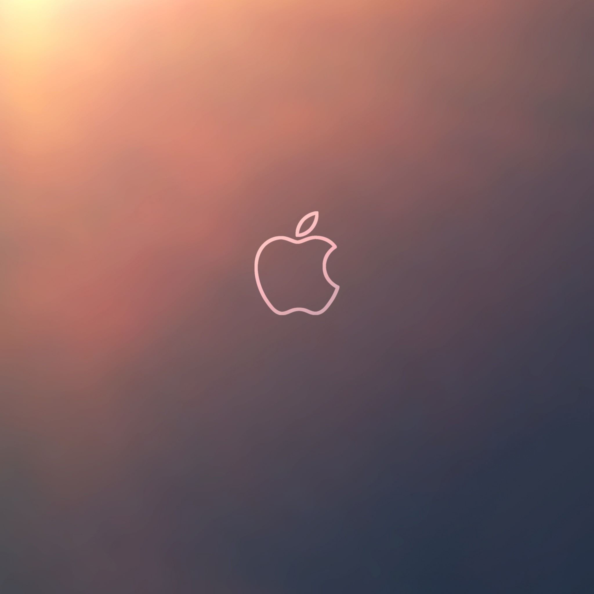 Apple Fluorescence Brand iPad Air wallpaper