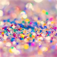 Colorful Glitter iPad wallpaper