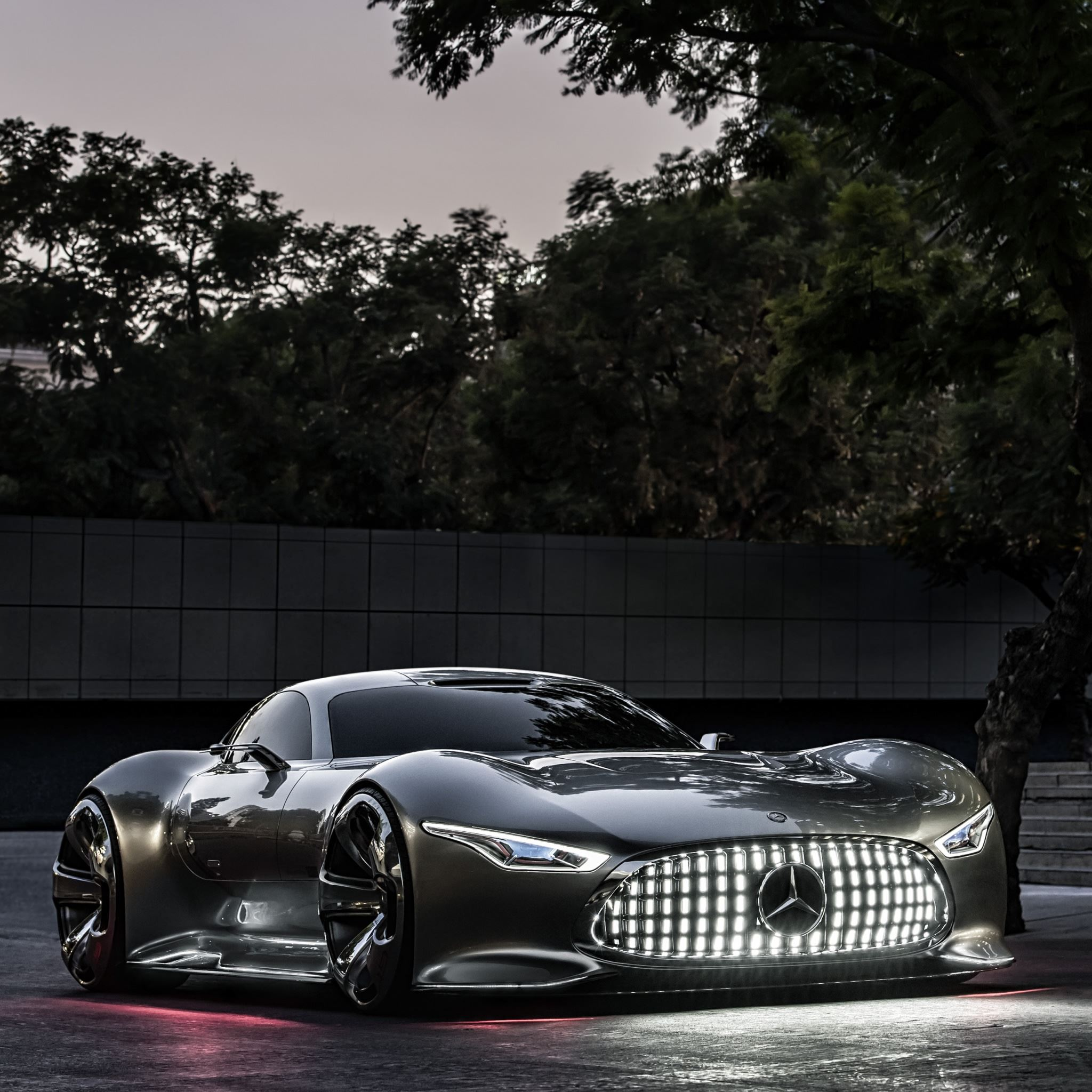 Mercedes Benz Vision Gran Turismo Evening iPad Air wallpaper