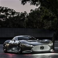 Mercedes Benz Vision Gran Turismo Evening iPad wallpaper