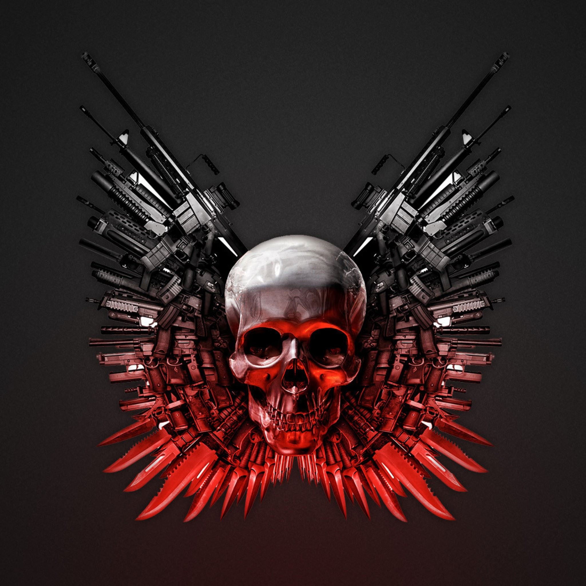 The Expendables Weapons Hd IPad Air Wallpaper