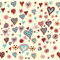 Valentines Day Hearts Textures iPad Air wallpaper