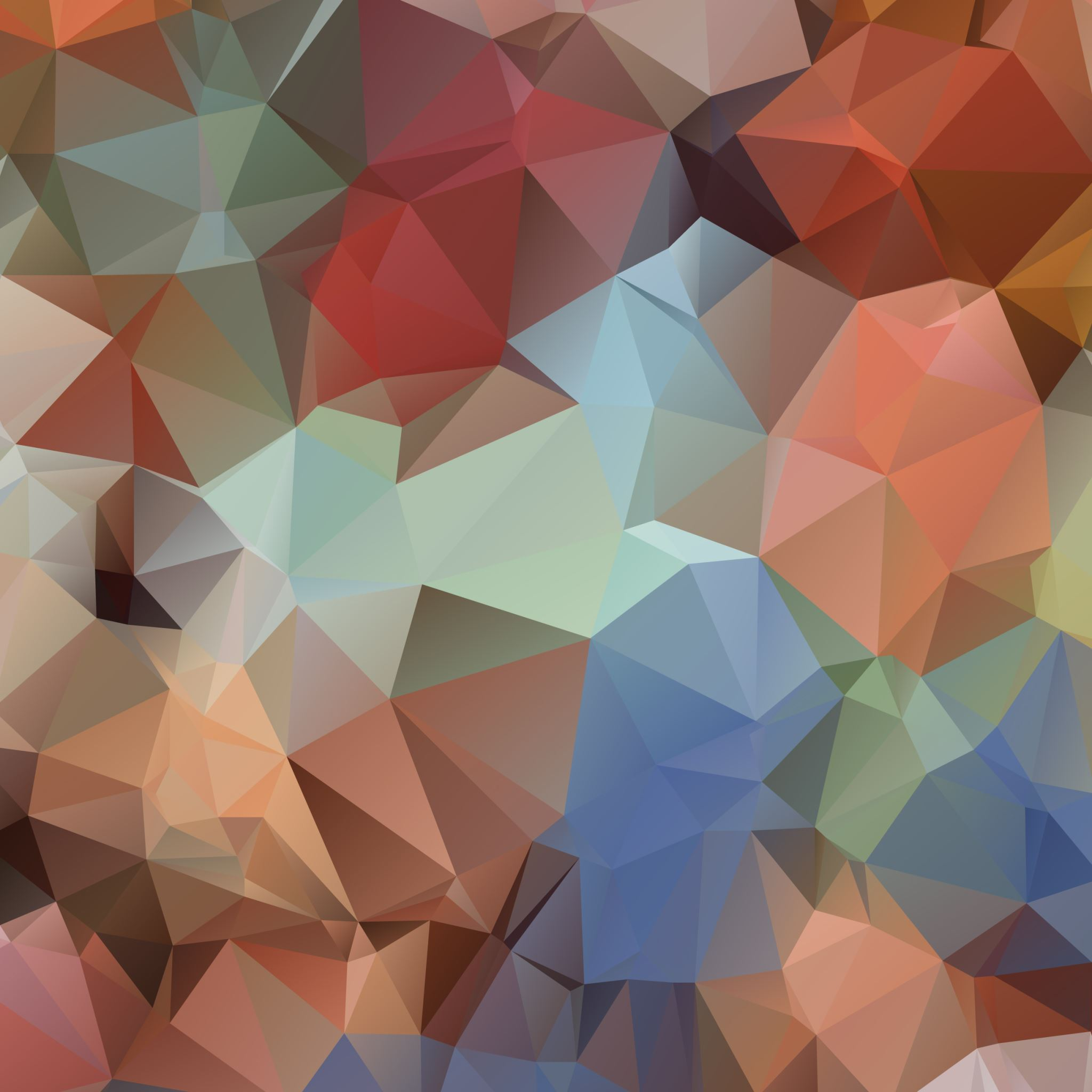 Polygon Surface iPad Air wallpaper