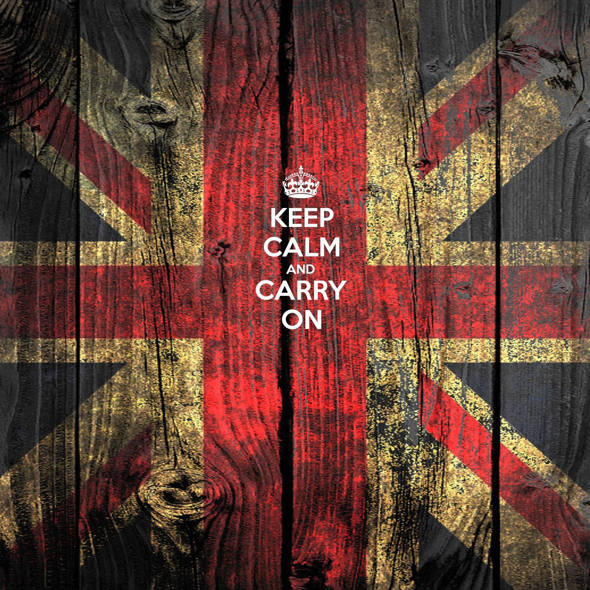 Keep Calm And Carry On Quotes iPad Air wallpaper