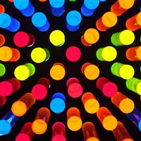 Giant lite brite iPad Air wallpaper