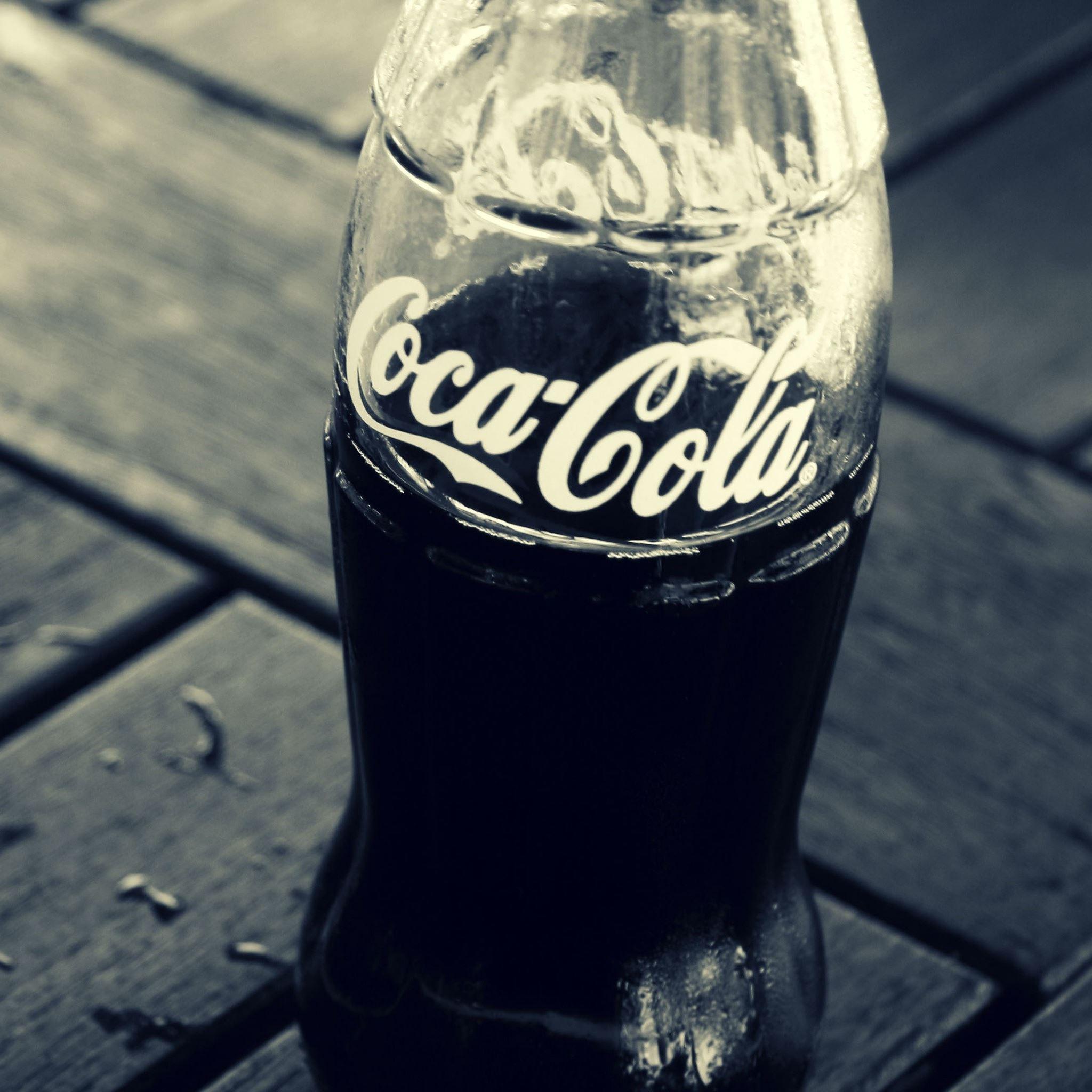 Coca Cola Bottles IPad Air Wallpaper