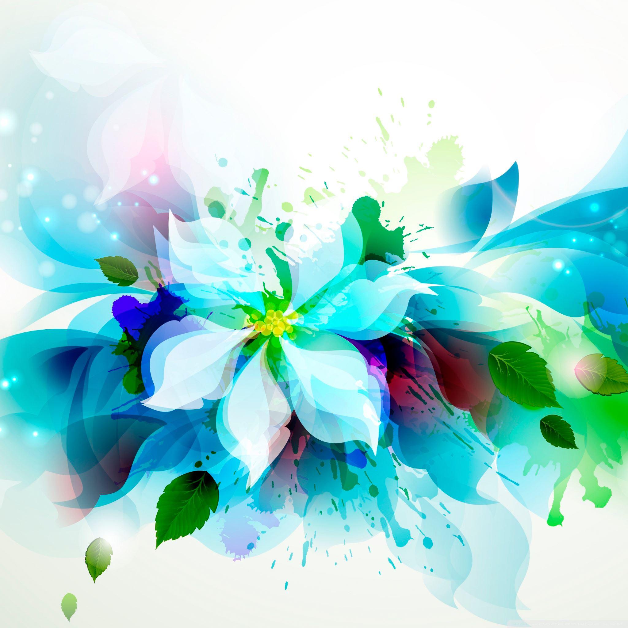 Free Ppt Backgrounds Desktop Wallpaper Flower Pink Lotus: Abstract Flower IPad Air Wallpaper Download