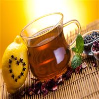 Fresh Relaxing Lemon Tea Drink  iPad Air wallpaper