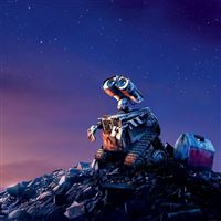 Wall E Disney Want Go Home Art iPad Air wallpaper