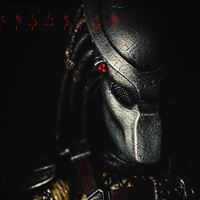 Predator Helmet Closeup iPad Air wallpaper