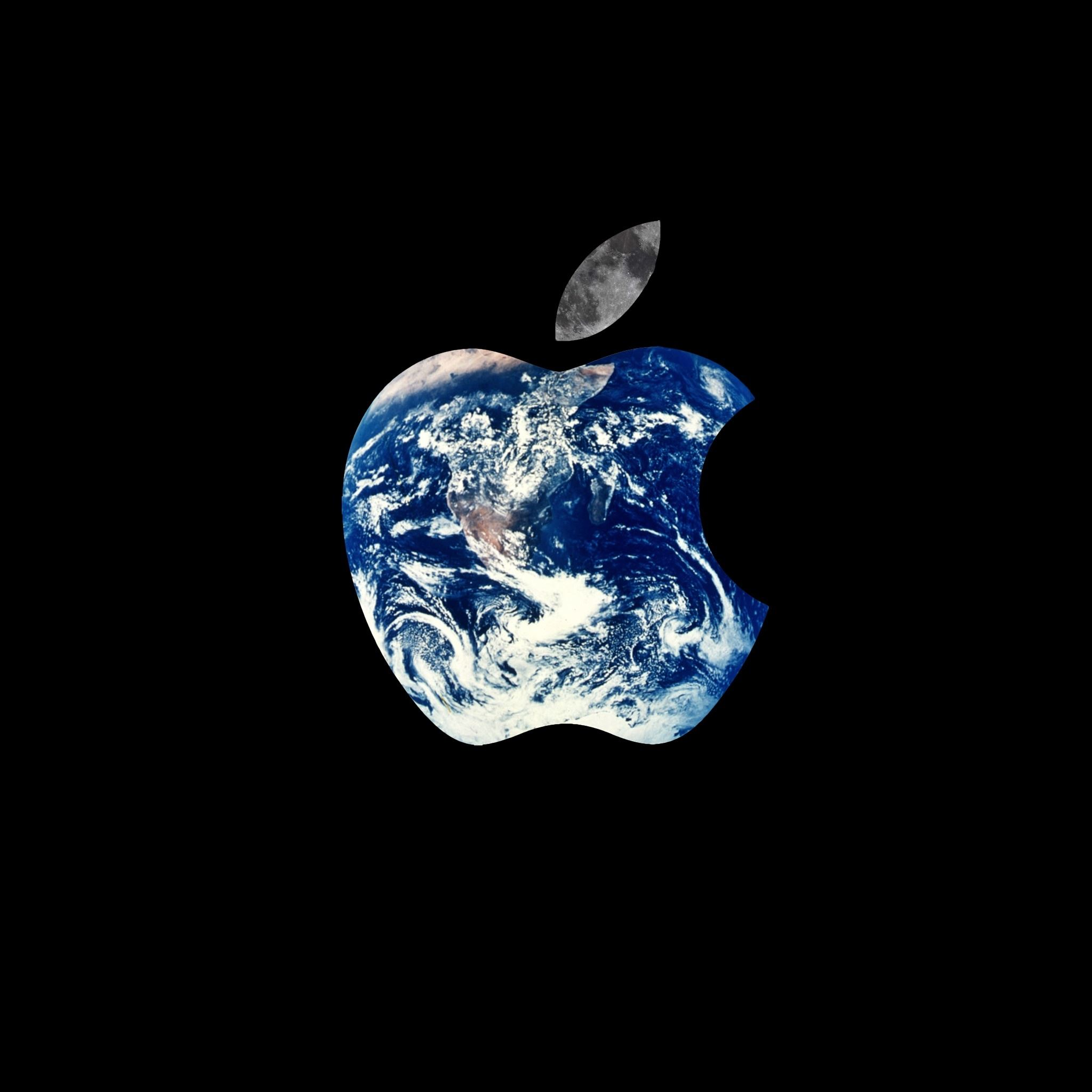 Apple Logo World Ipad Air Wallpaper Download Iphone Wallpapers