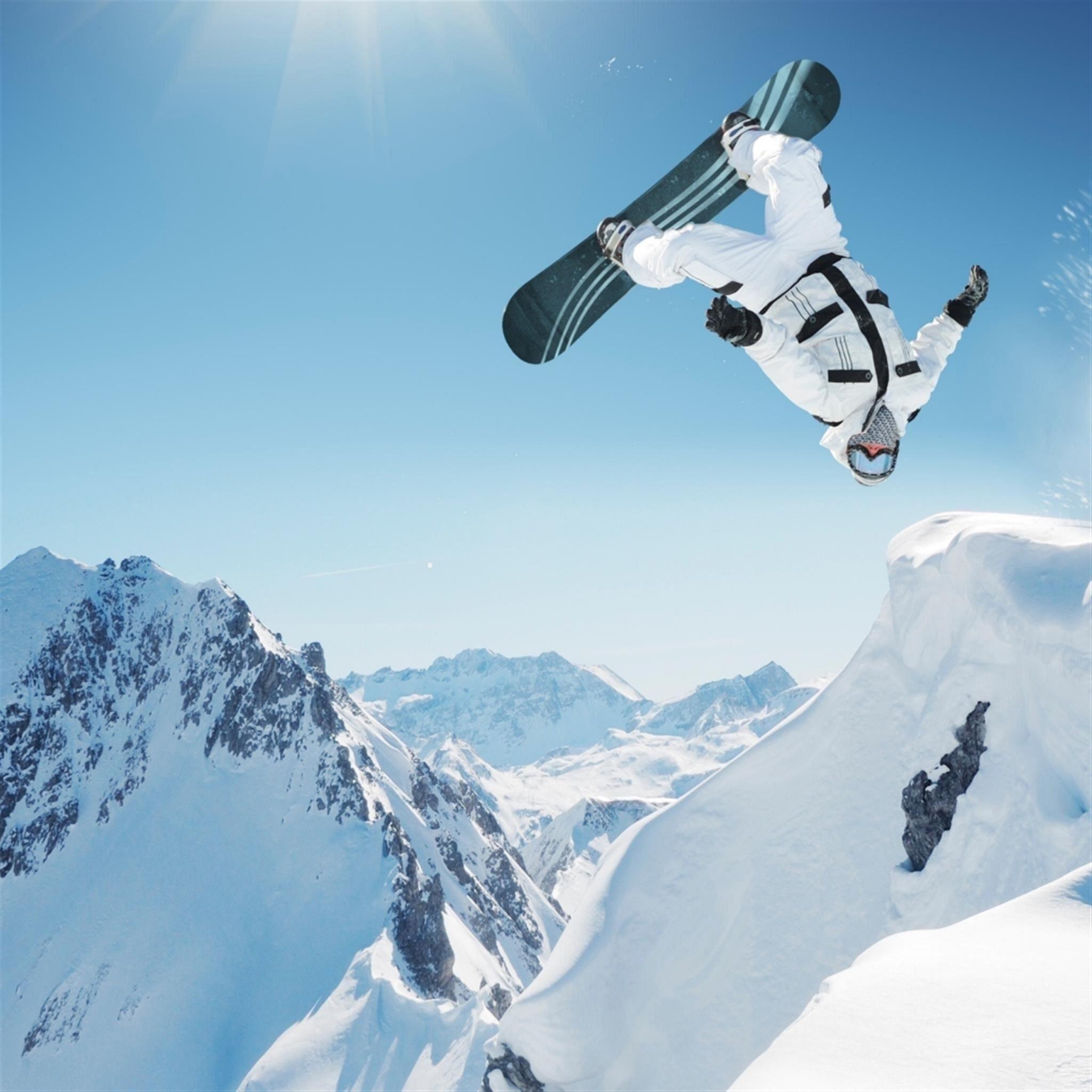 Ski Extreme Sports IPad Air Wallpaper Download