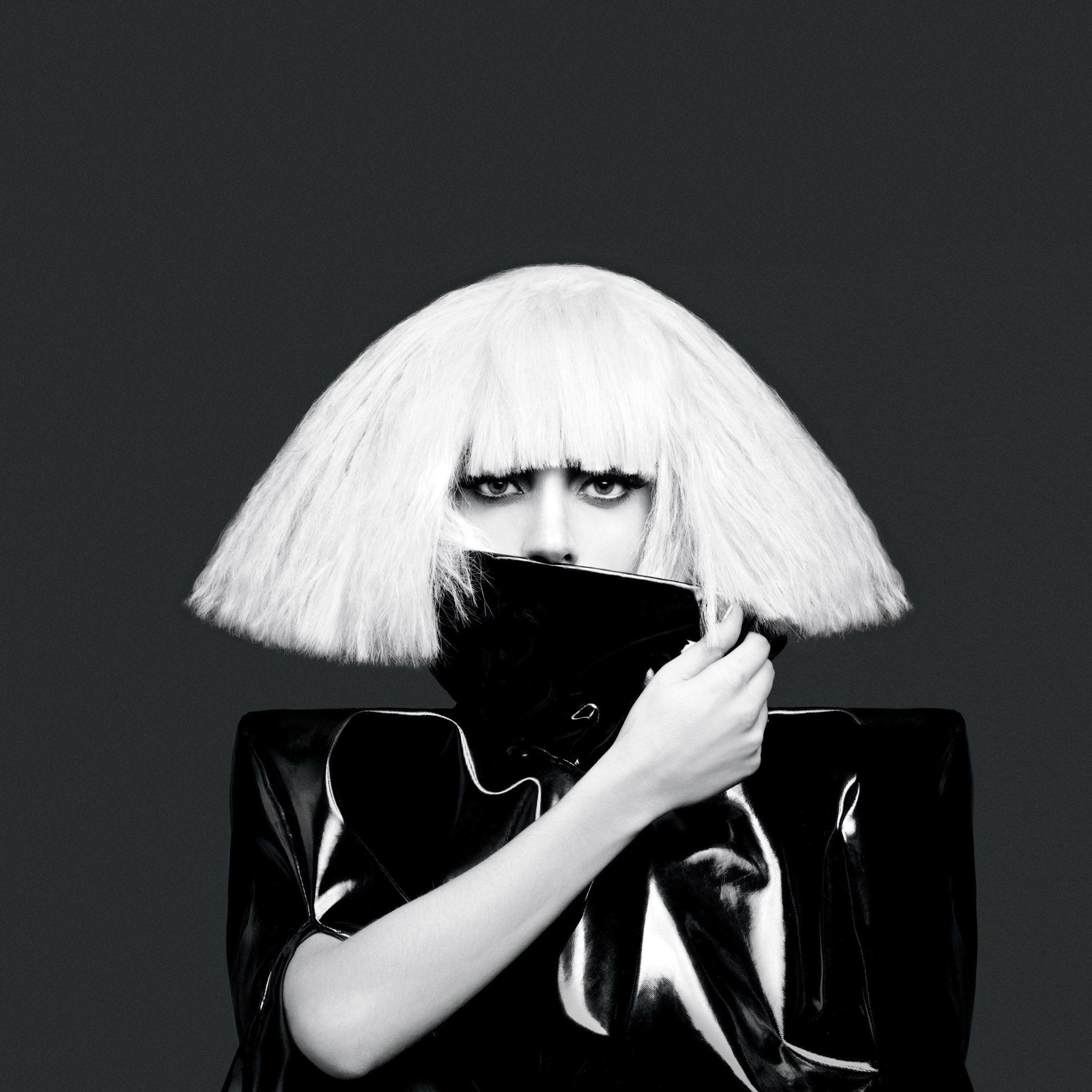 Super Star Lady Gaga iPad Air wallpaper