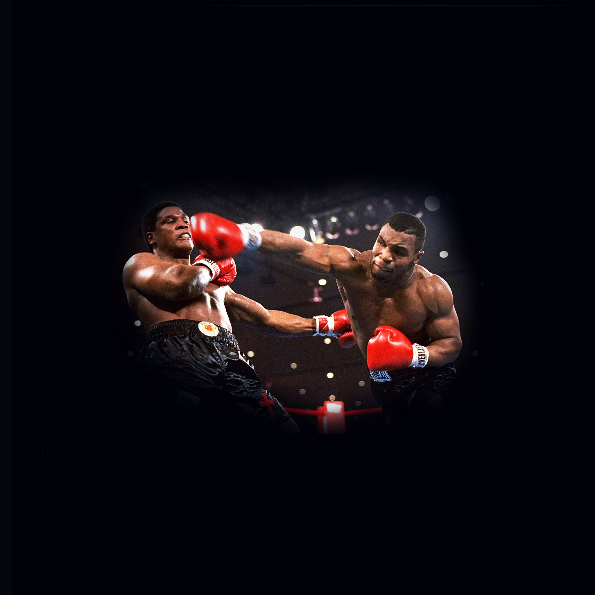 Boxing Mike Tyson Sports Dark iPad Air wallpaper