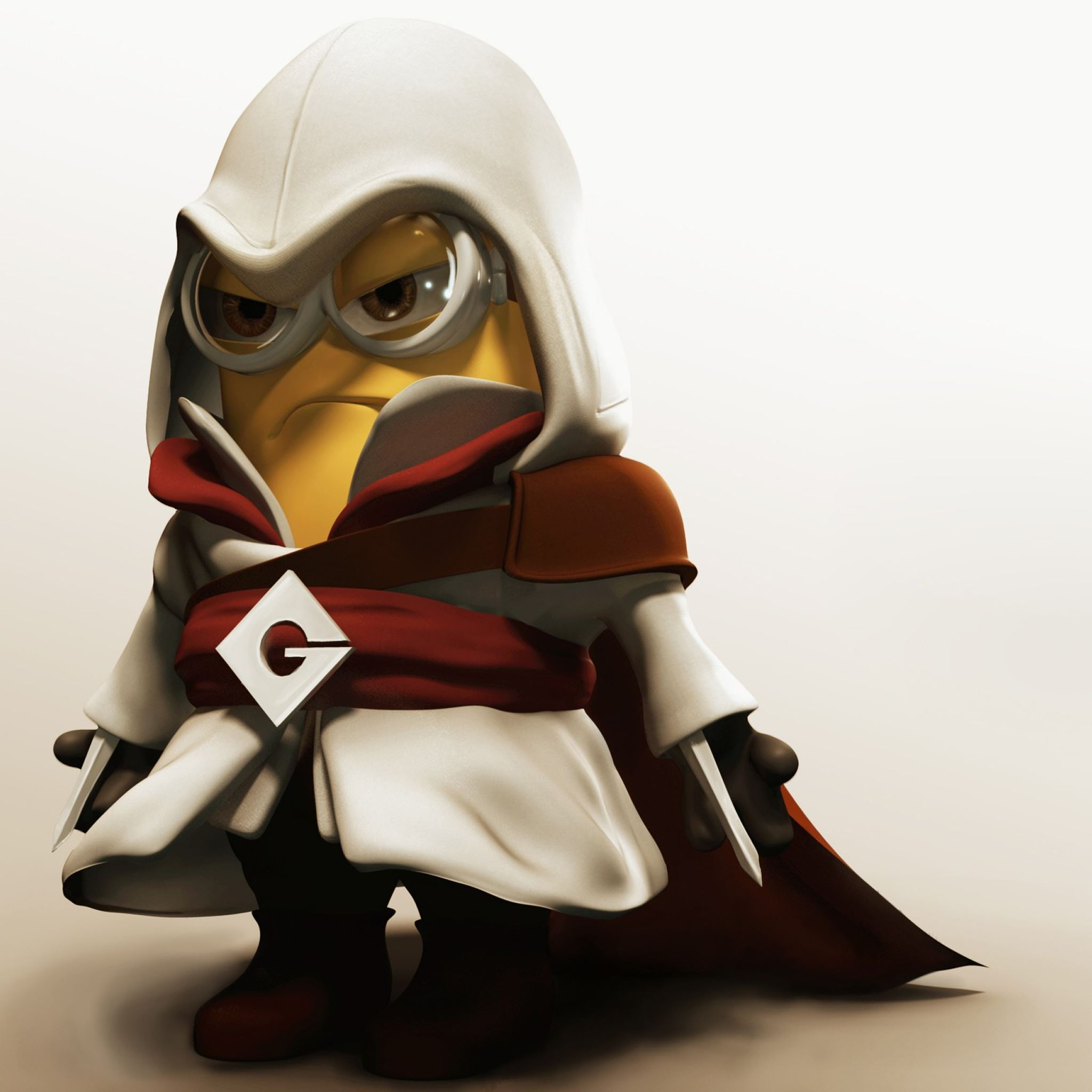 Funny Assassin Creed Minion Ipad Air Wallpapers Free Download