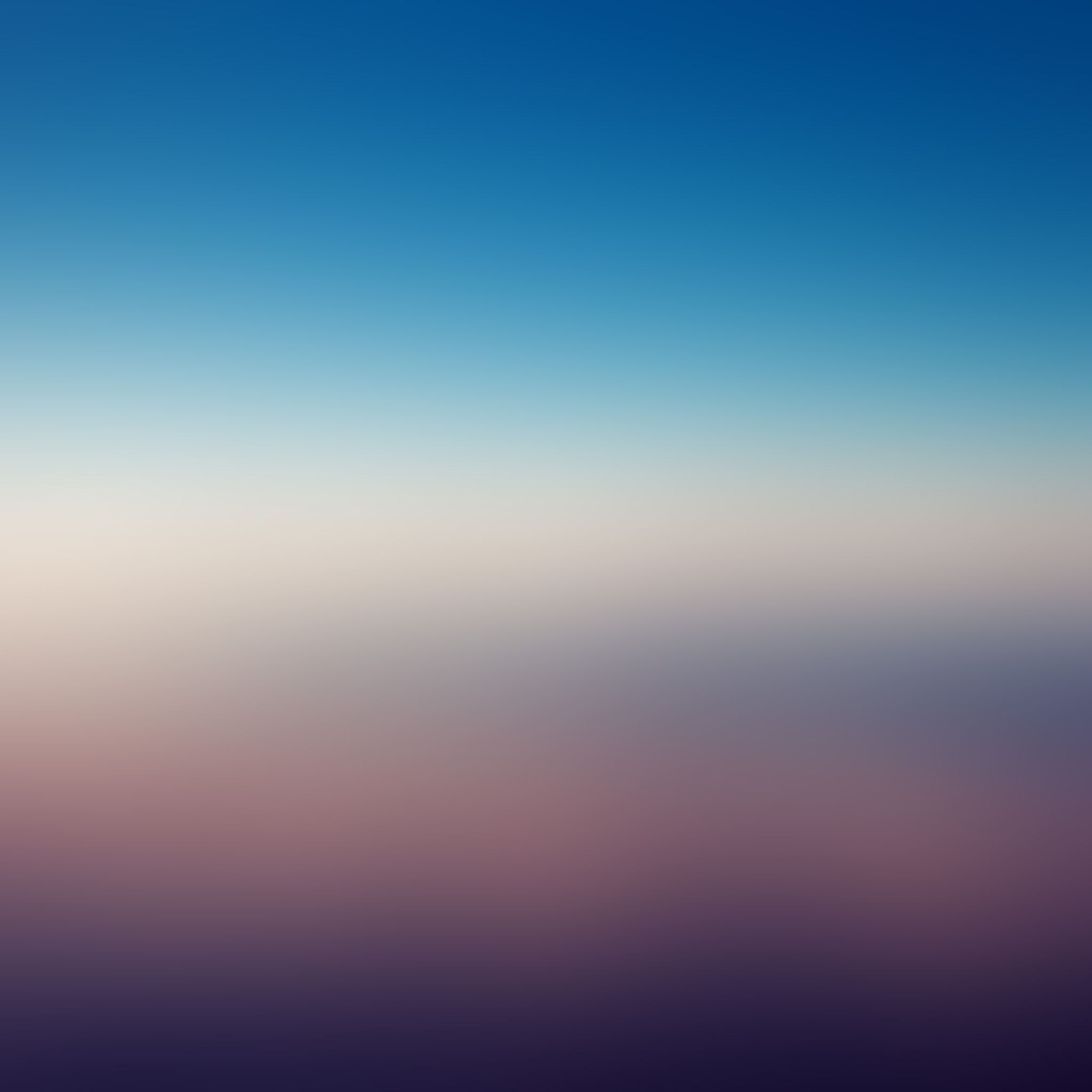 Ocean Art Peace Blue Gradation Blur iPad Air wallpaper