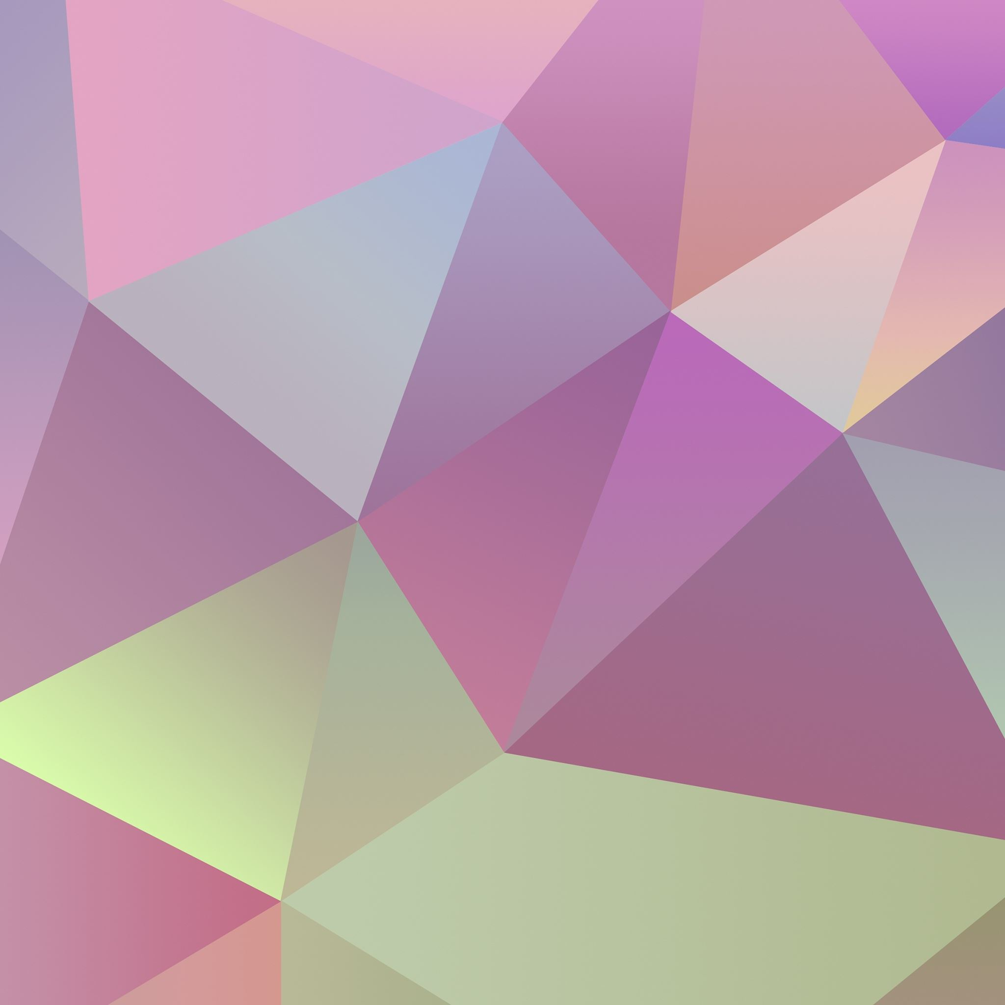 Colorful Folded Triangles Ios 7 Pattern Background Ipad Air