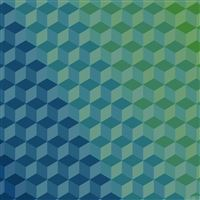 Polygon Blue Art Graphic Pattern iPad Air wallpaper