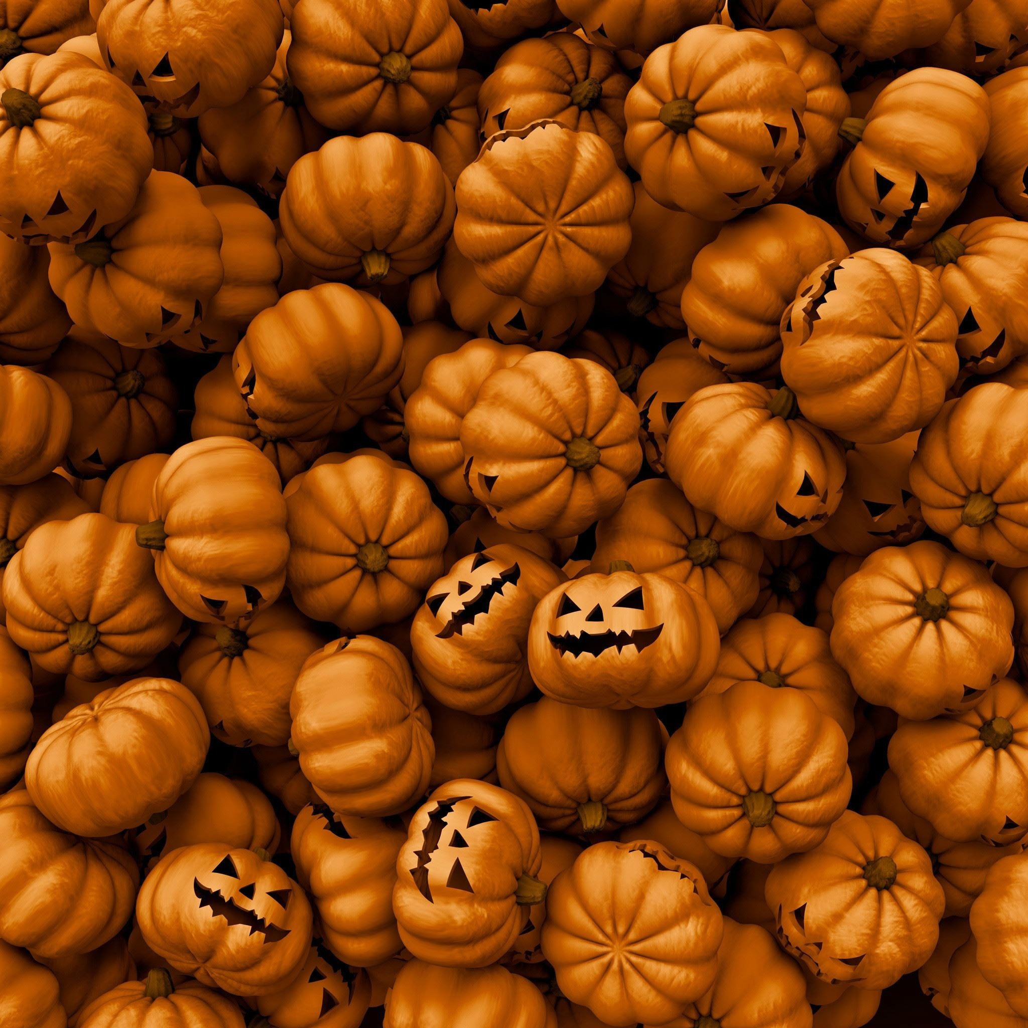 Halloween Pumpkins Ipad Air Wallpapers Free Download