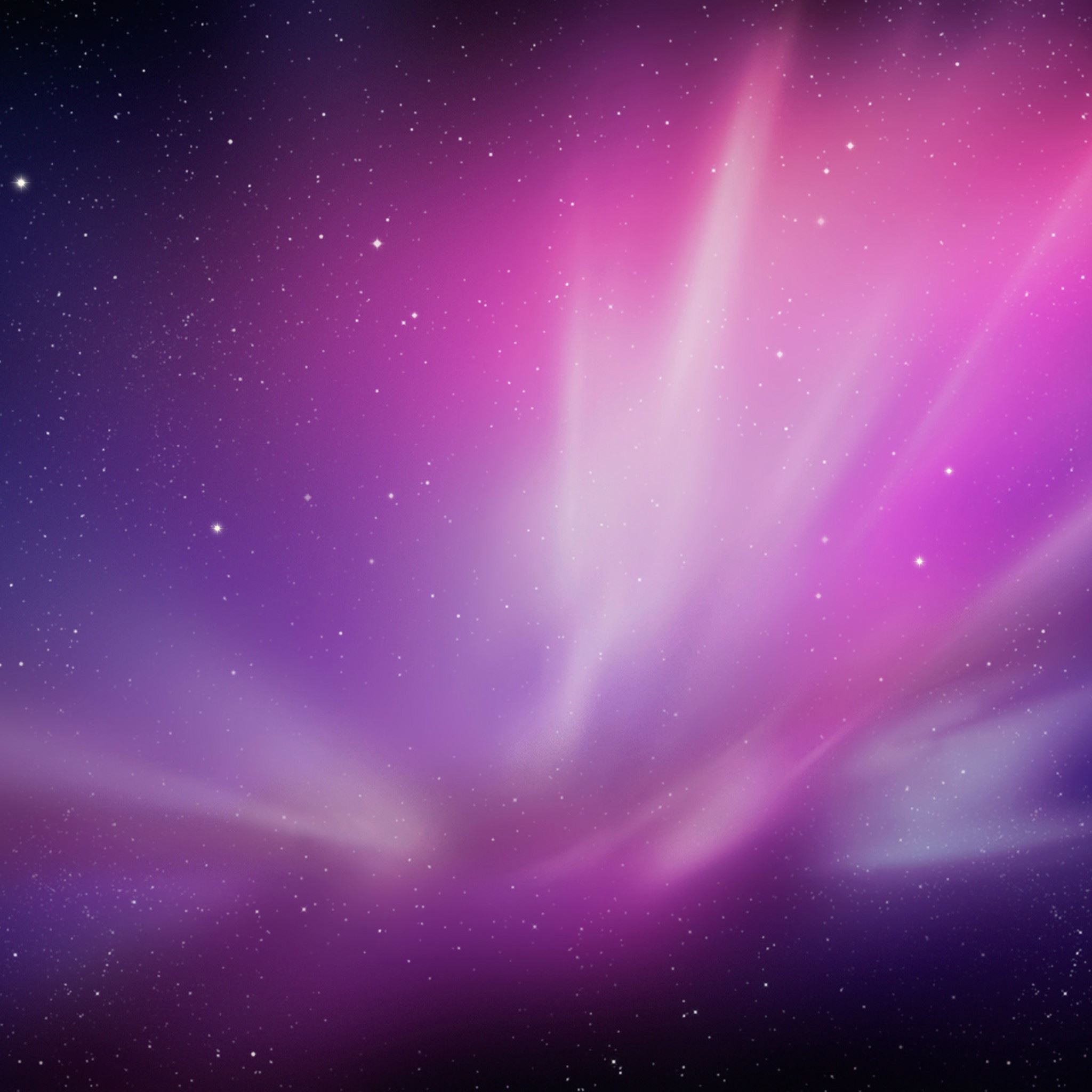 Fantasy Purple Red Shiny Nebula Space View iPad Air wallpaper