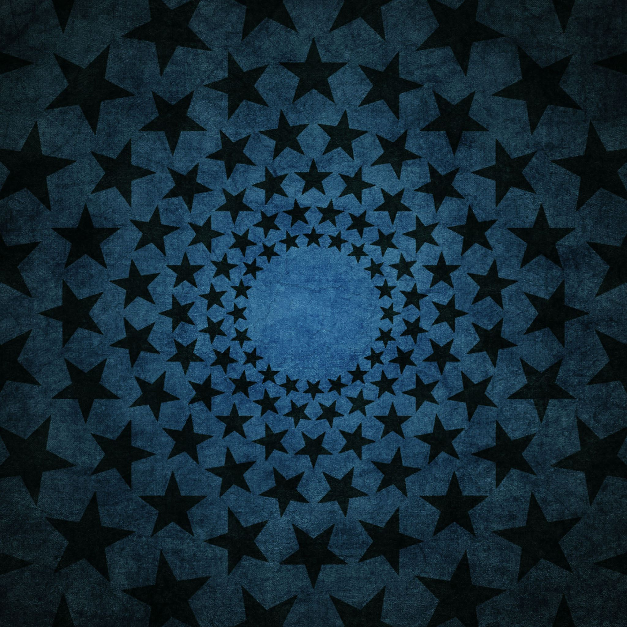 Round Star Pattern Art iPad Air wallpaper