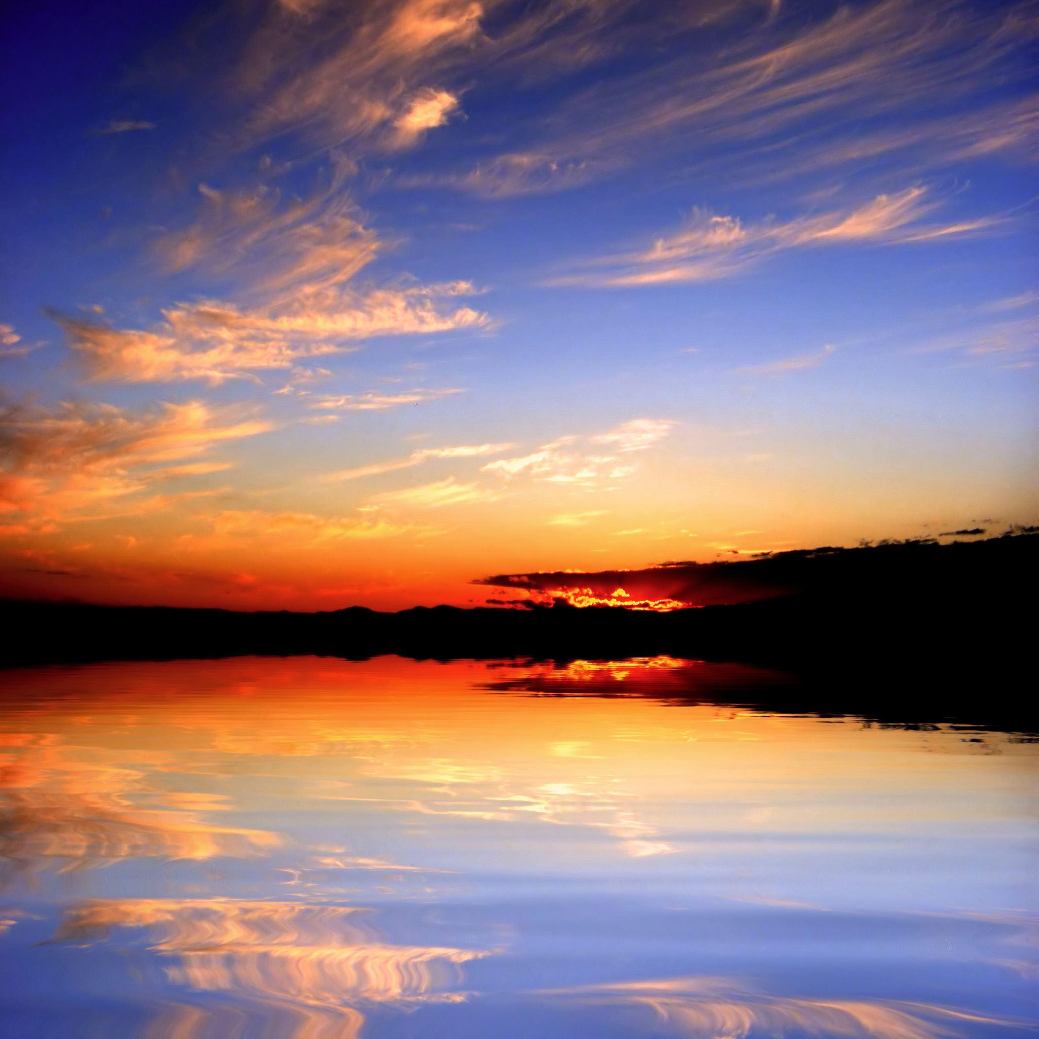 wonderful ocean my horizon scene ipad air wallpaper download