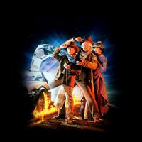 Back To The Future 3 Poster Film Art iPad Air wallpaper