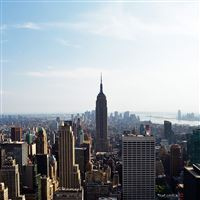 Empire State Building New York iPad wallpaper