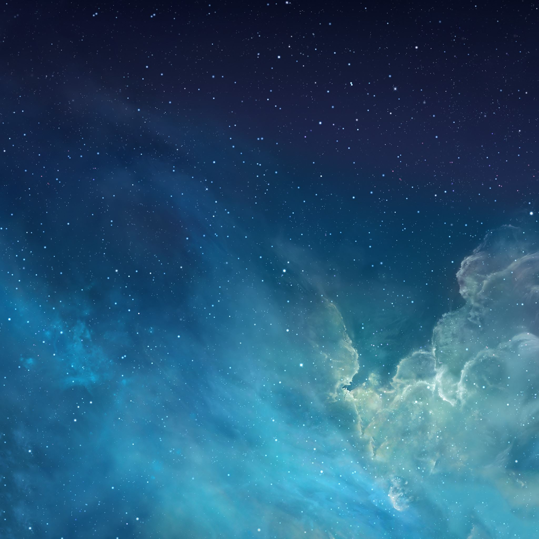 Fantasy Shiny Starry Outer Space Universe iPad Air wallpaper