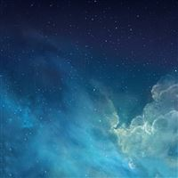Fantasy Shiny Starry Outer Space Universe iPad wallpaper