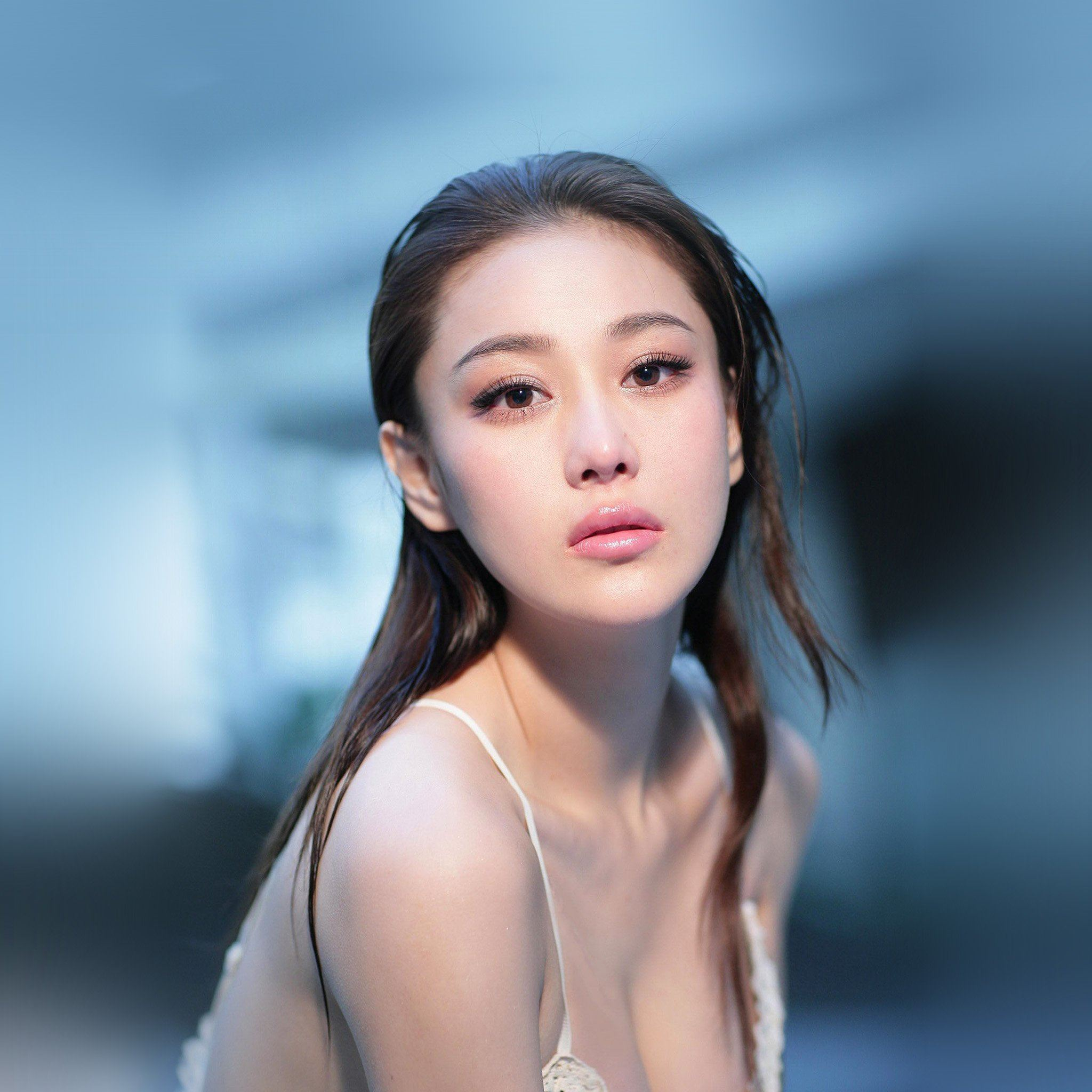 Chinese Girl Hot Model Star iPad Air wallpaper