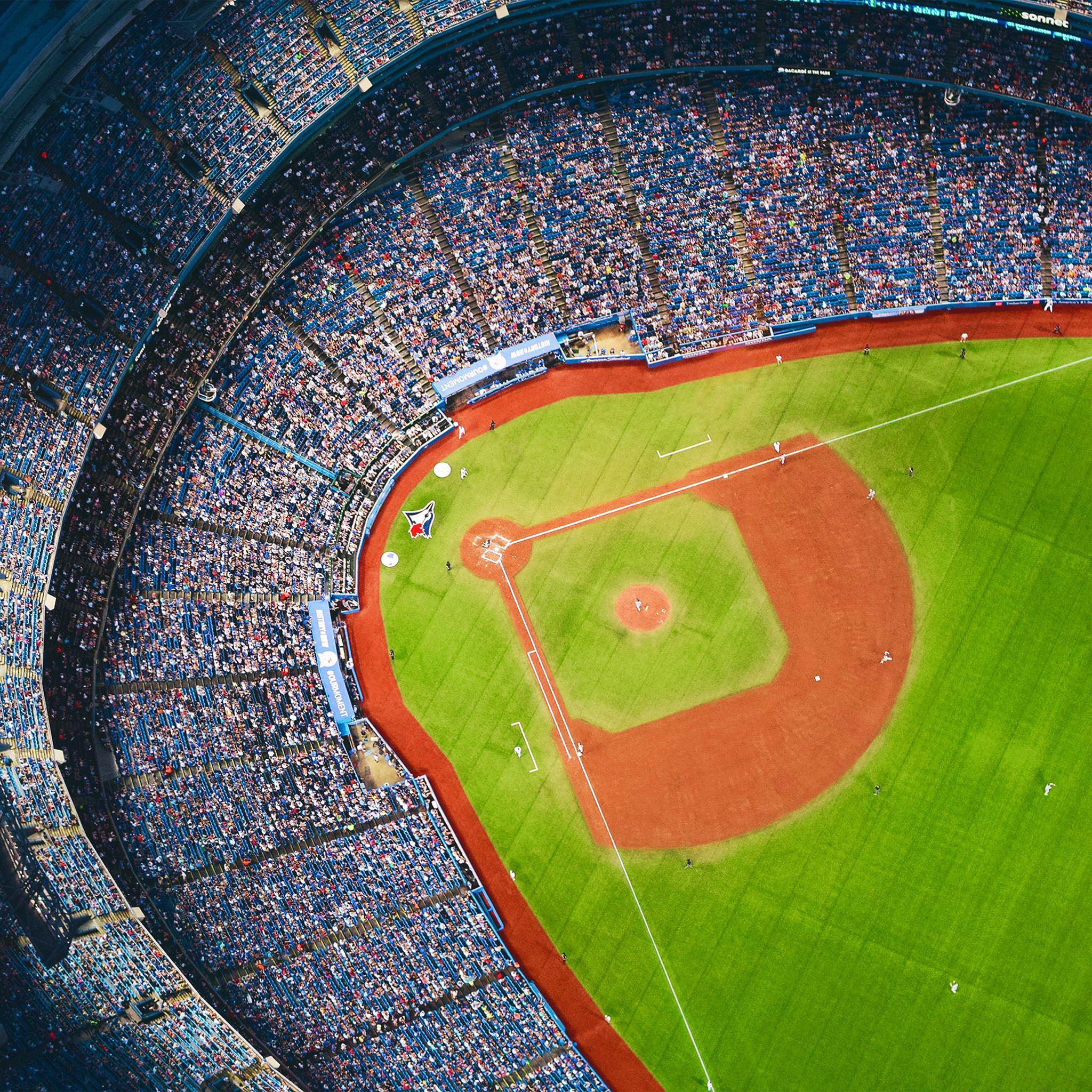 Bluejays Baseball Mlb Field Sports Ipad Air Wallpapers Free Download