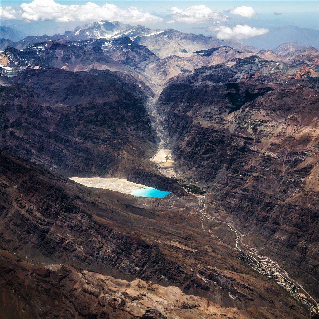 Rocky Mountain River Nature Summer iPad