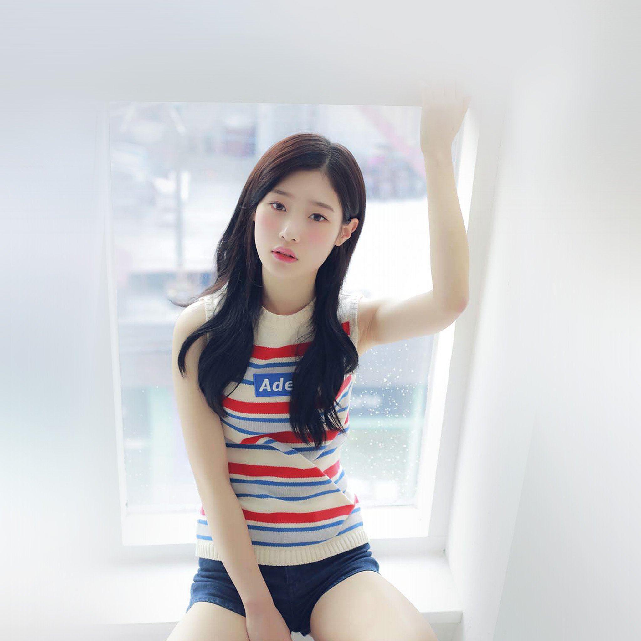 Chaeyeon Ioi Kpop Girl White Cute Ipad Air Wallpapers Free