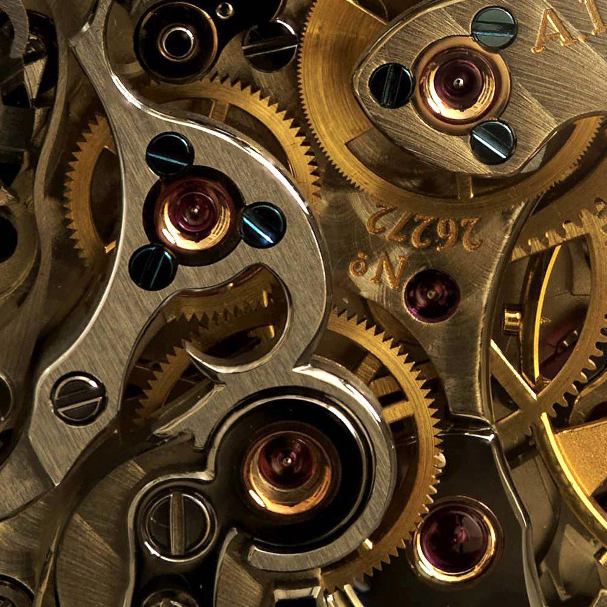 Industry Mechanical Gear Combination Ipad Air Wallpapers