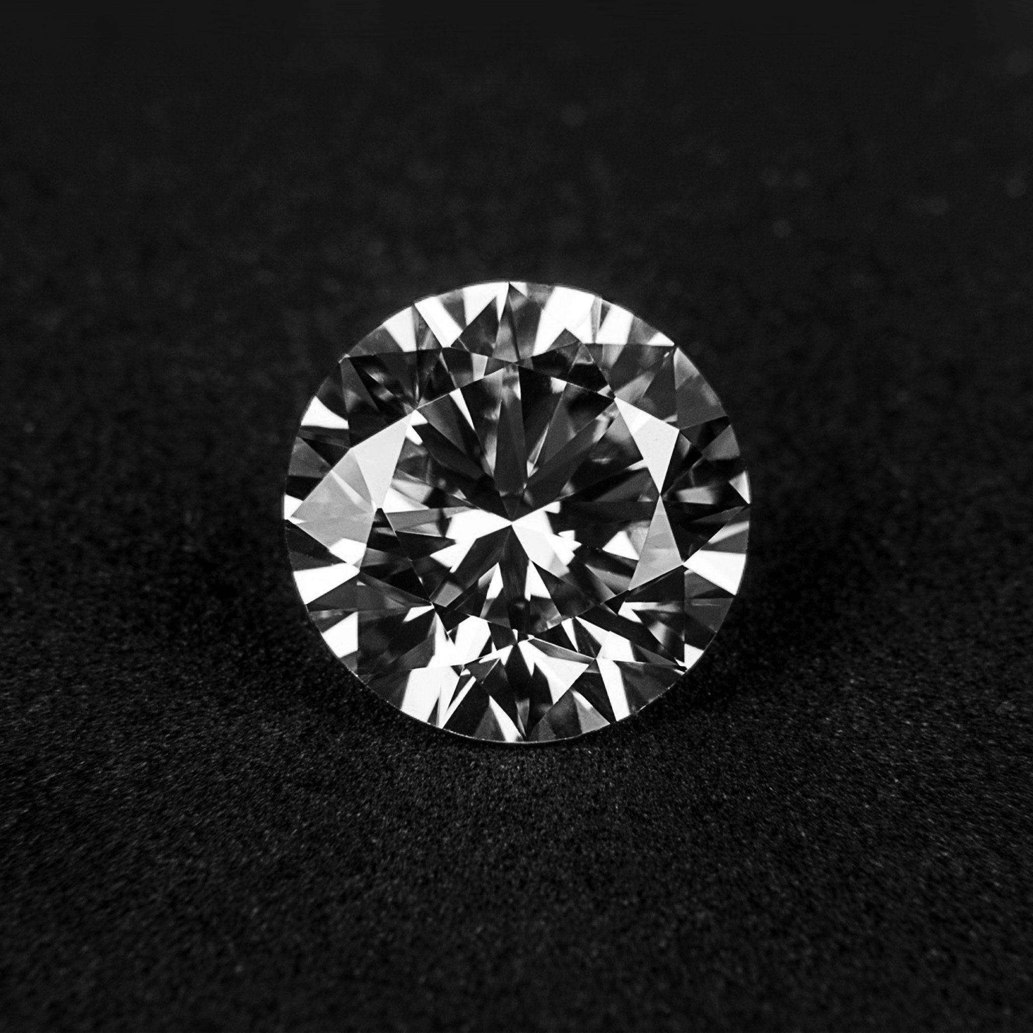 Abstract Diamonds Polygon Dark Honorable Sparkle Ipad Air