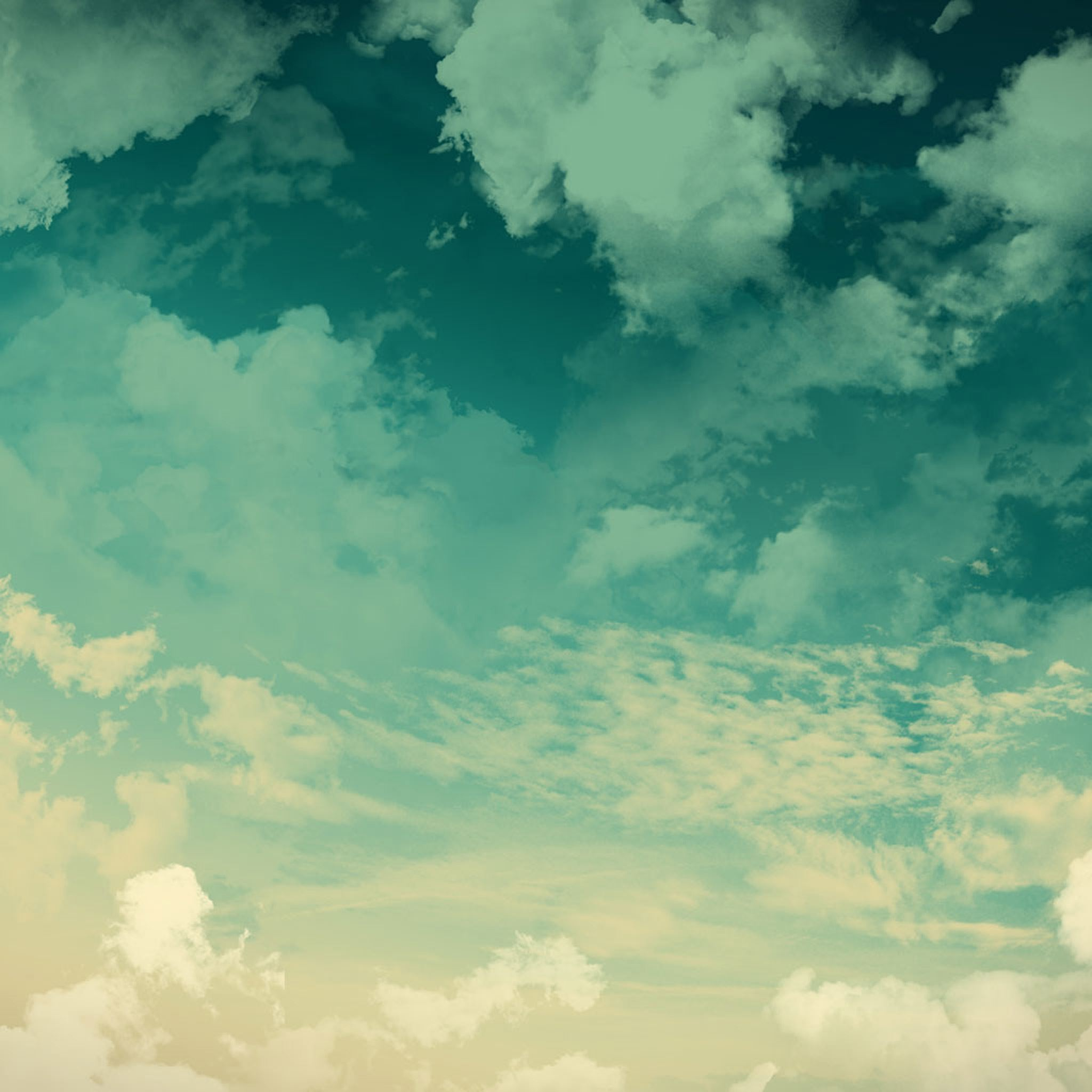 Nature Sky Clouds Sunny Landscape iPad Air wallpaper