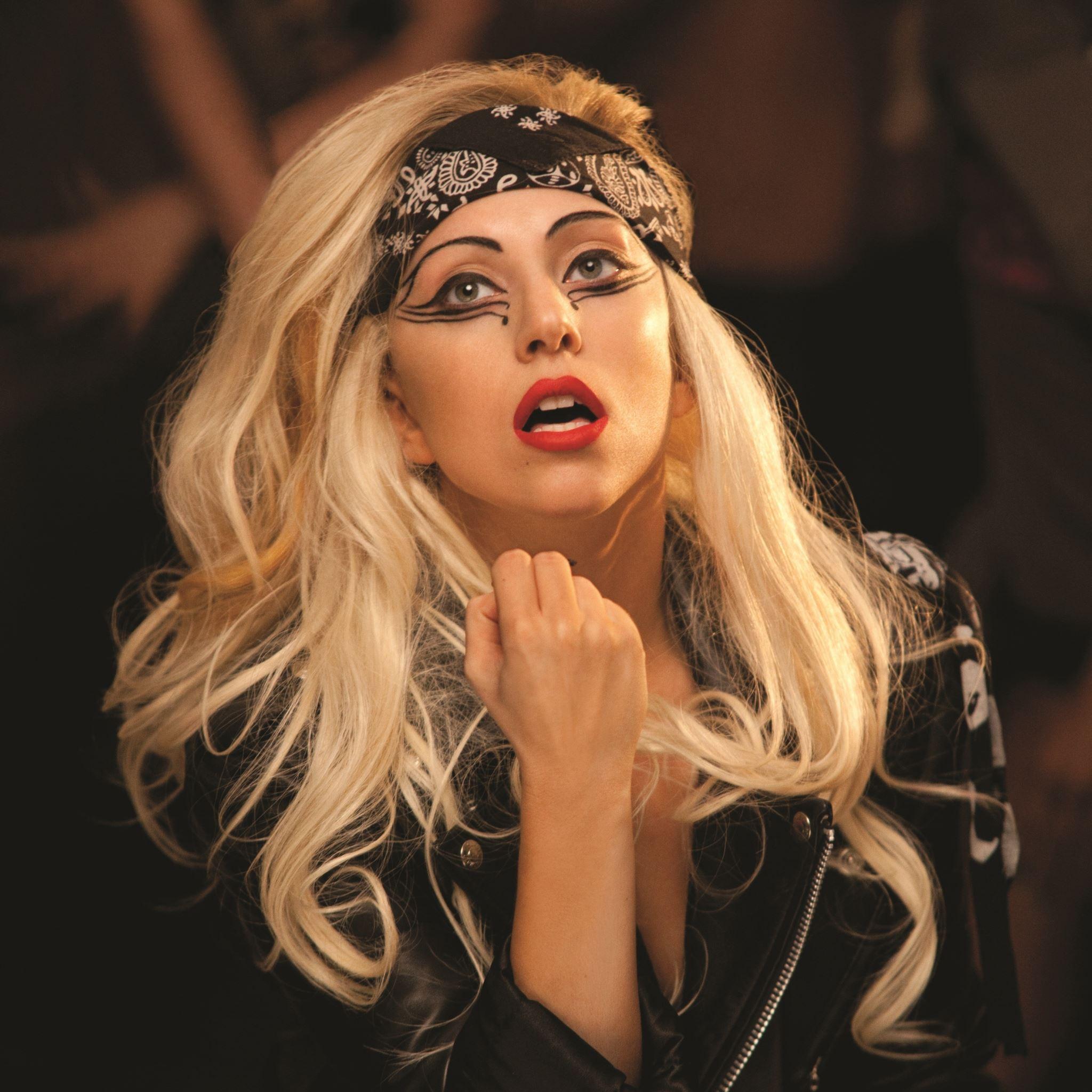 Lady Gaga Mother Monster Singer Makeup iPad Air wallpaper