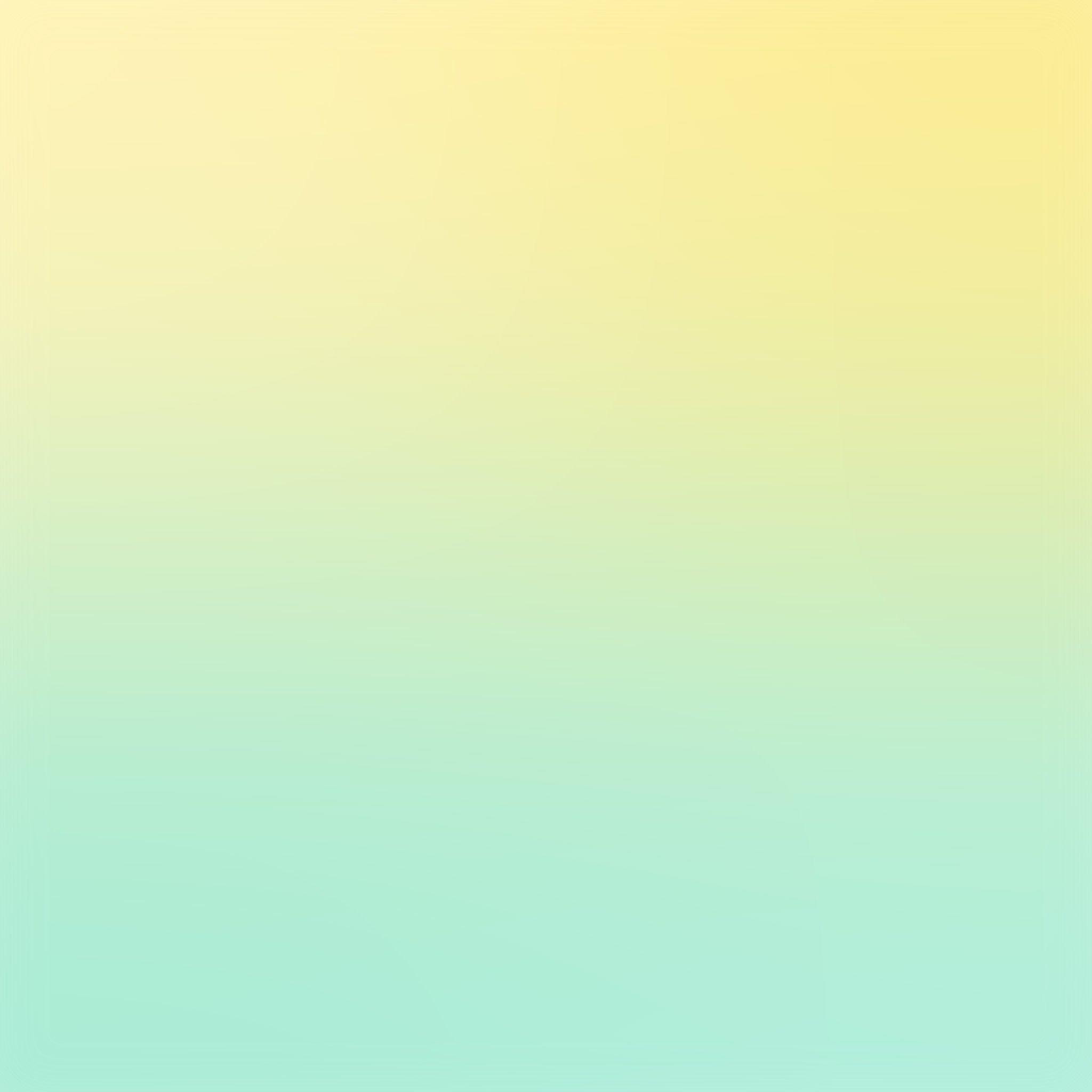 Yellow Green Pastel Blur Gradation Ipad Air Wallpapers Free
