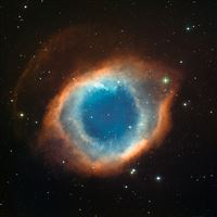 Helix nebula eye of god iPad Air wallpaper